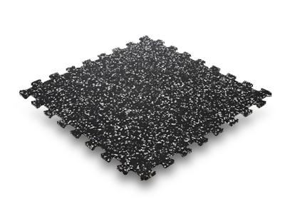 Eco black pisos para gimnasios floor system - Baldosas de goma ...